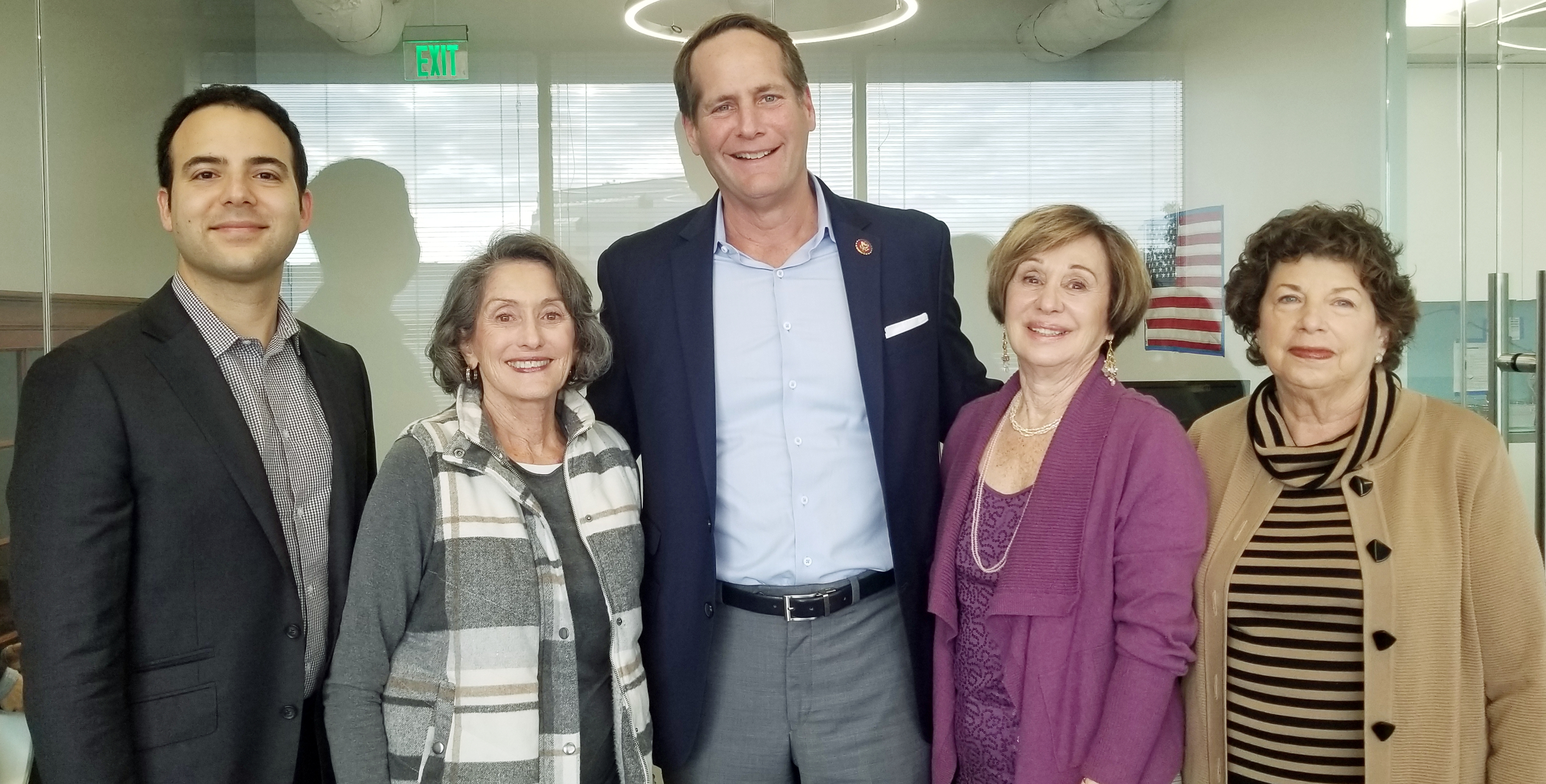2019-03-04 AJC LA Meets with Congressman Harley Rouda