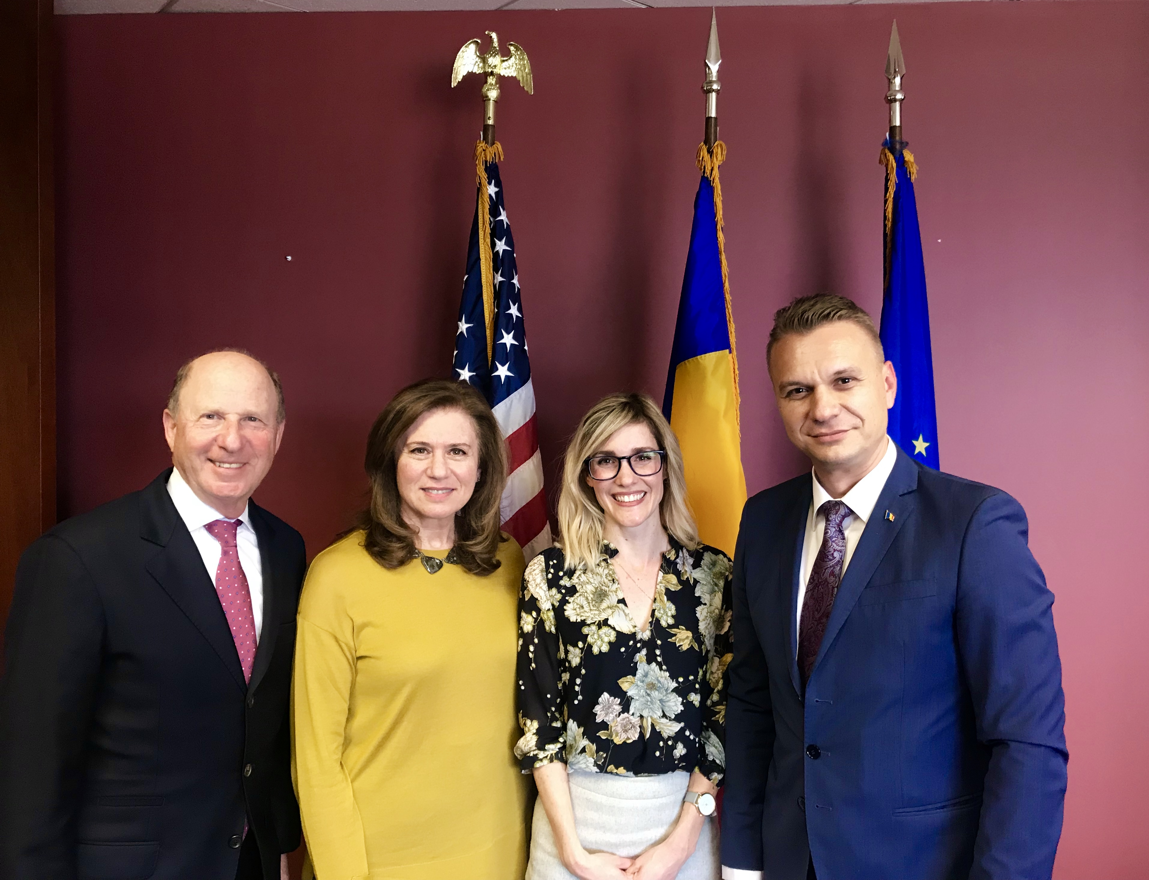 2019-03-26 Meeting with Consul General of Romania