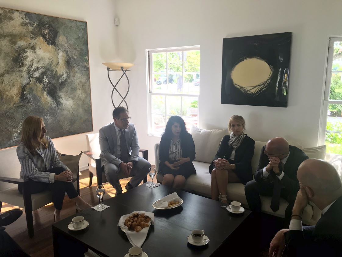 2019-06-24 Meeting with French MP Roland Lescure - pic 2