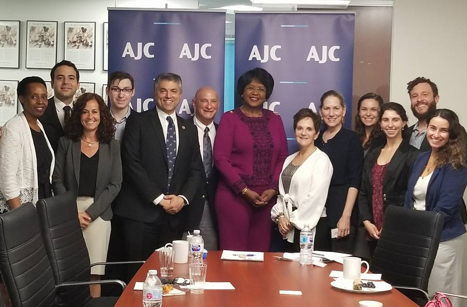 Photos of AJC LA with the African Union Ambassador