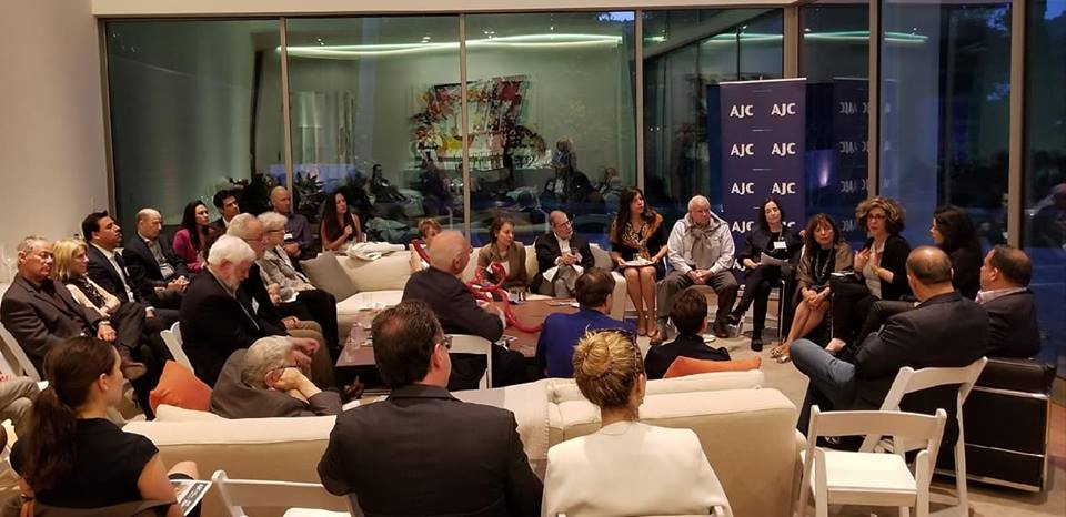 Photo of AJC LA in conversation with Latin American Project Interchange Alumni