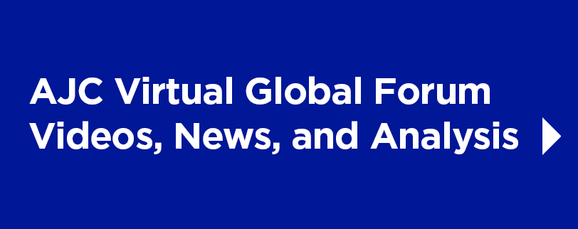 AJC Virtual Global Forum 2020 Video, News, and Analysis