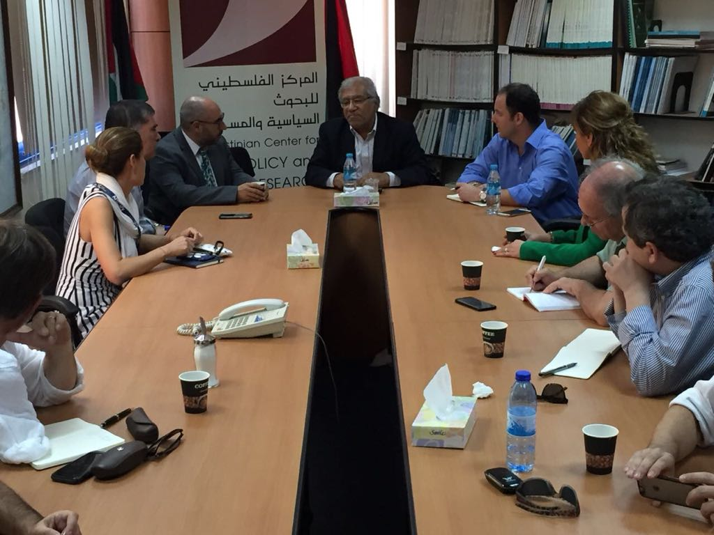 Reunión en Ramala