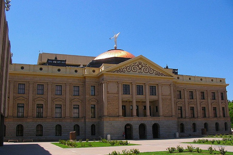 Photo of the Arizona State Capitol