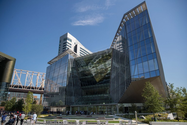 Photo of the Cornell Tech campus