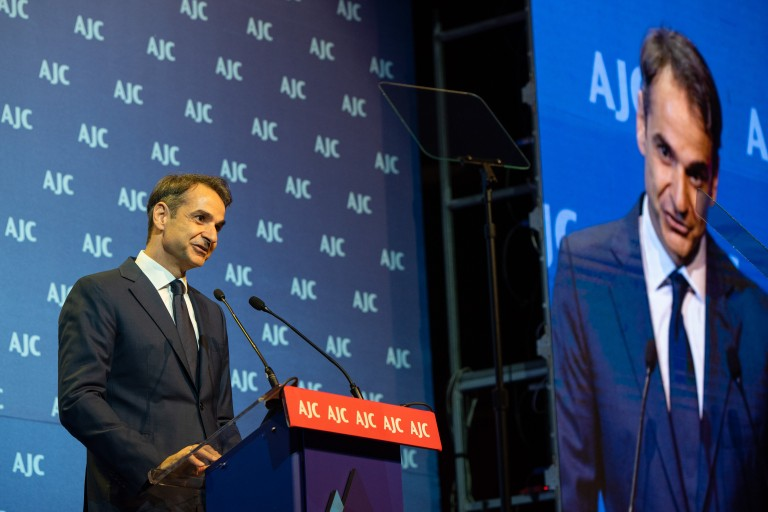 Kyriakos Mitsotakis at AJC Global Forum 2018