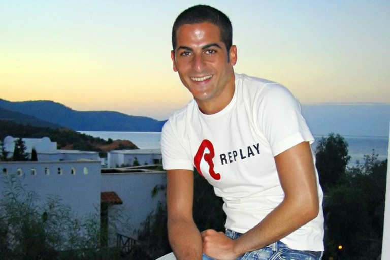 Photo of Ilan Halimi smiling