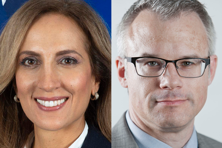 U.S. Assistant Special Envoy to Monitor and Combat Antisemitism Ellie Cohanim and Deputy Director, Iran Action Group Matthew McInnis