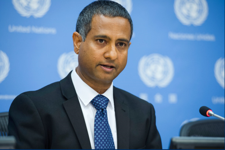 UN Special Rapporteur on Freedom of Religion or Belief Dr. Ahmed Shaheed