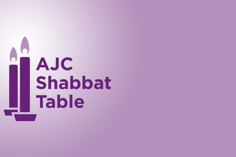 AJC Shabbat Table