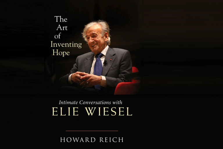 "Cover of the book ""The Art of Inventing Hope: Intimate Conversations with Elie Wiesel"""