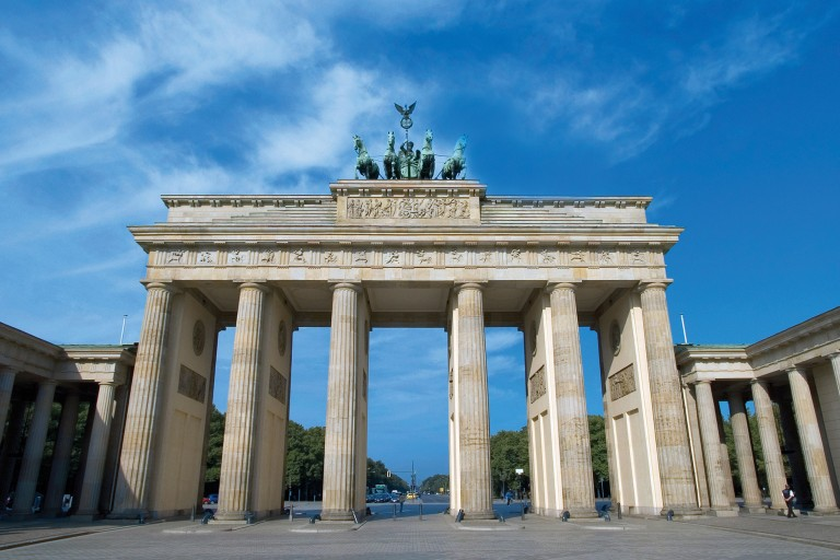 Photo of the Brandenburg Gate