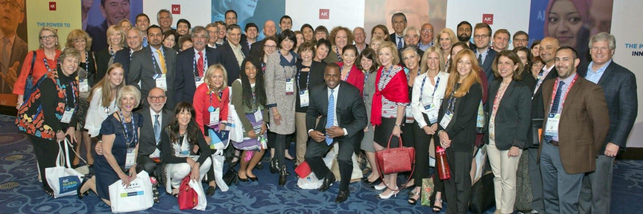 Members of AJC Atlanta at AJC Global Forum 2017 with Atlanta Mayor Kasim Reed