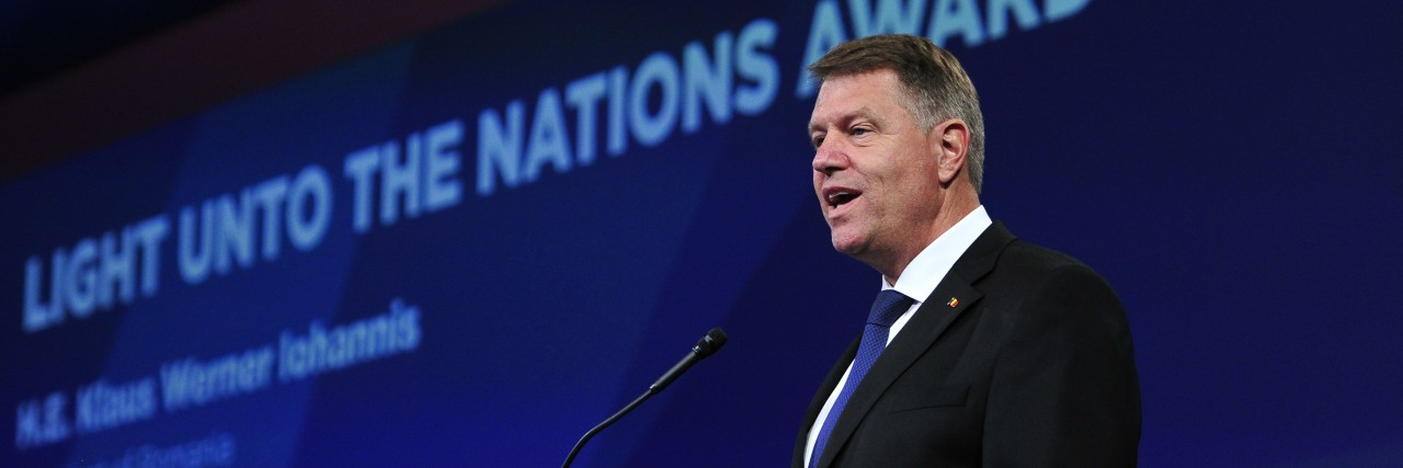 AJC Global Forum to Honor Romanian President Iohannis