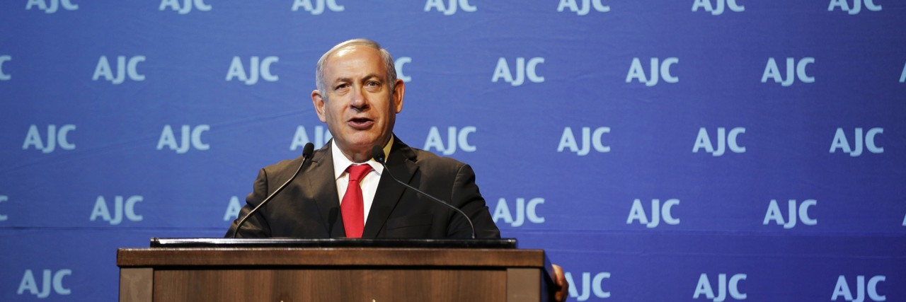 Benjamin Netanyahu Addresses AJC Global Forum