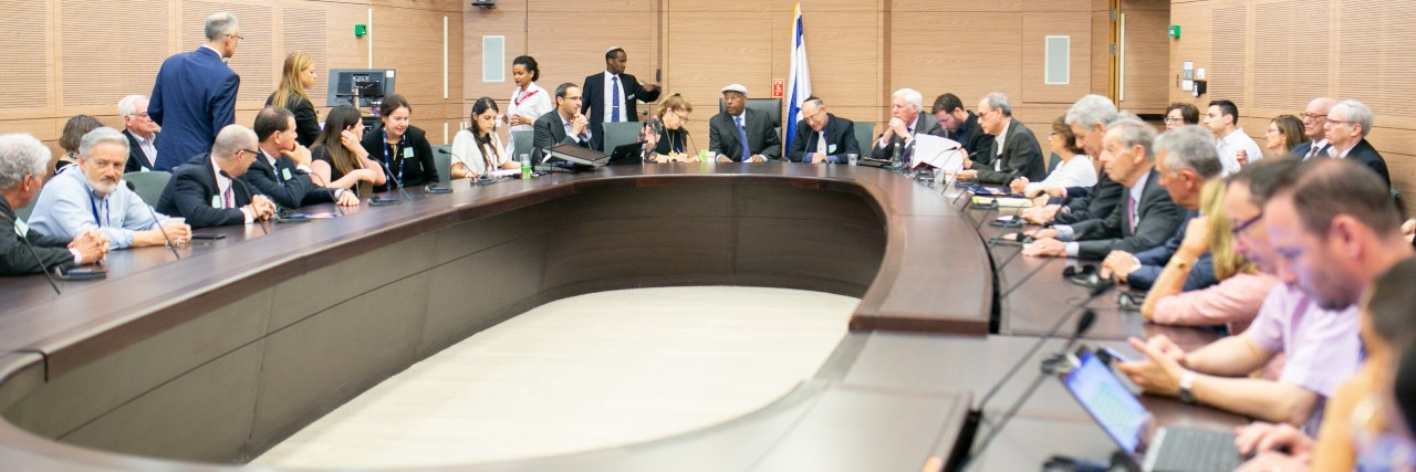 Photo of AJC J-REC and Knesset Members Discuss Religious Pluralism