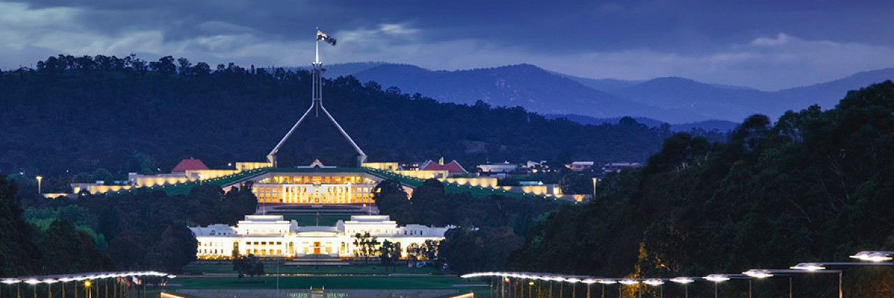 Photo of Australian Parliament in Canberra