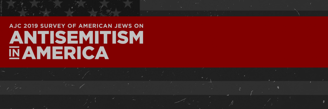 Graphic displaying AJC Survey of American Jews on Antisemitism in America
