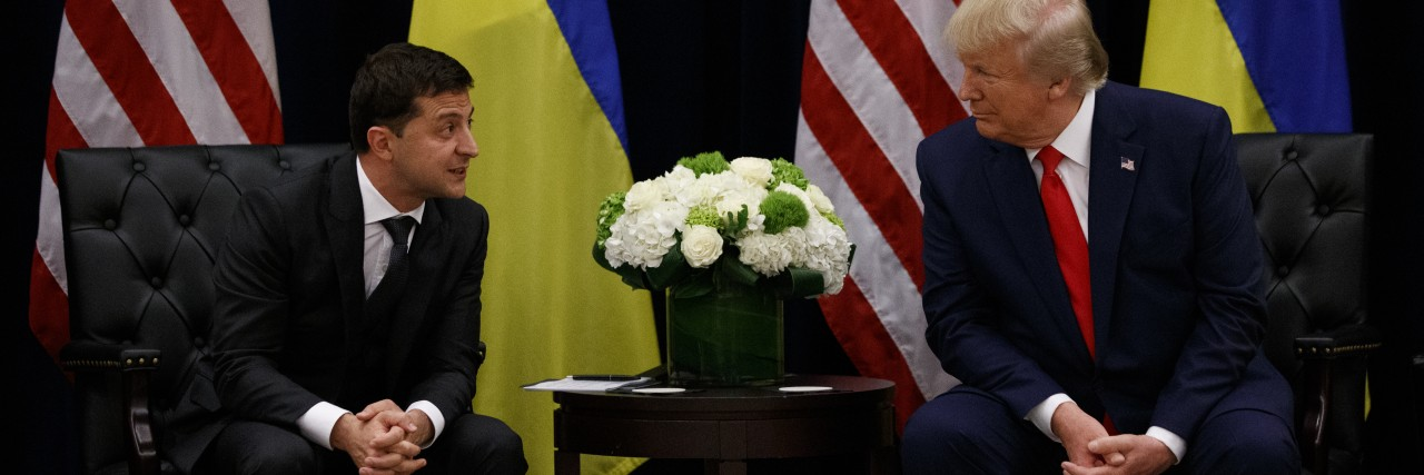 Ukrainian President Zelensky; Blood Libel in America