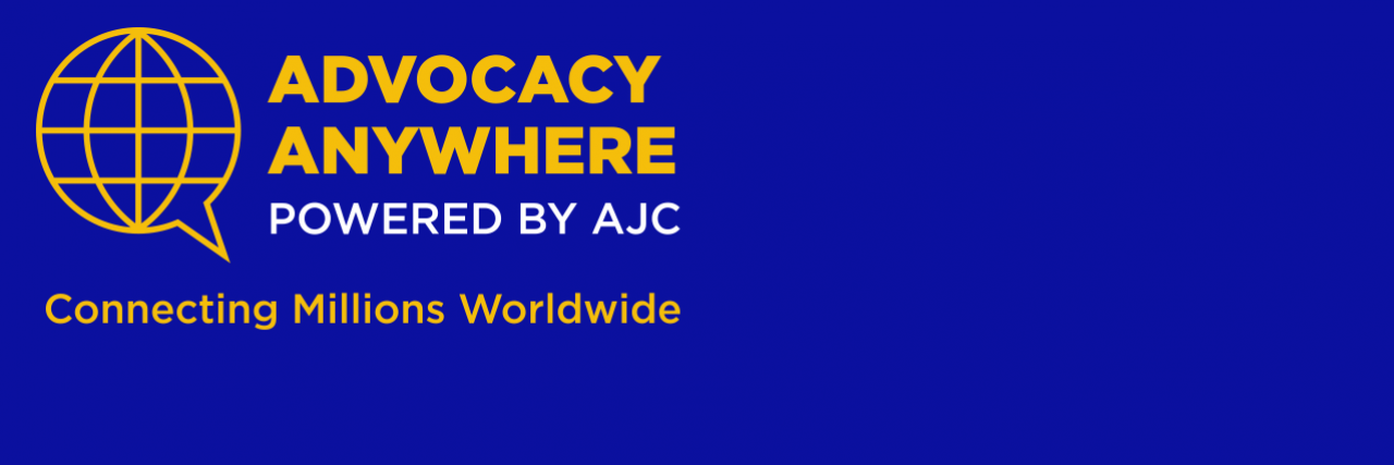 Advocacy Anywhere powered by AJC | Connecting Millions Worldwide