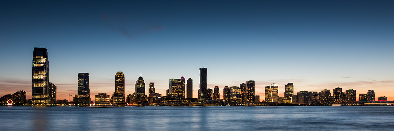 Photo of the Jersey City skyline