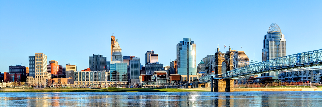 Photo of Cincinnati skyline