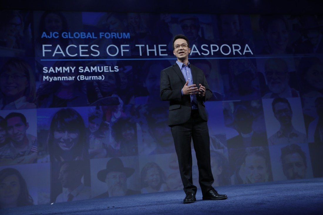 Faces of the Diaspora - Sammy Samuels, Myanmar (Burma) | AJC