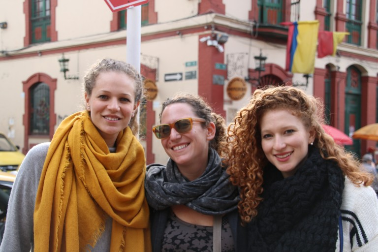 Photo of 3 ACCESS members in Colombia