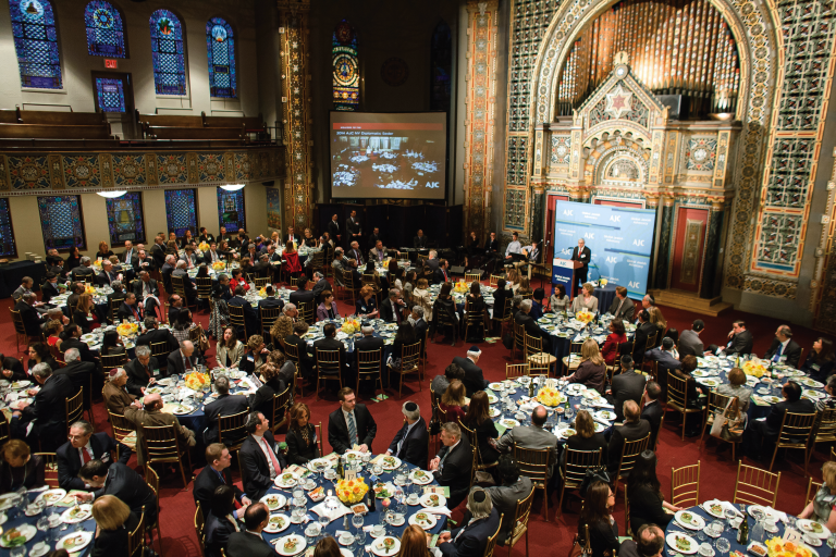 Photo of AJC New York Diplomatic Seder at B'nai Jeshurun