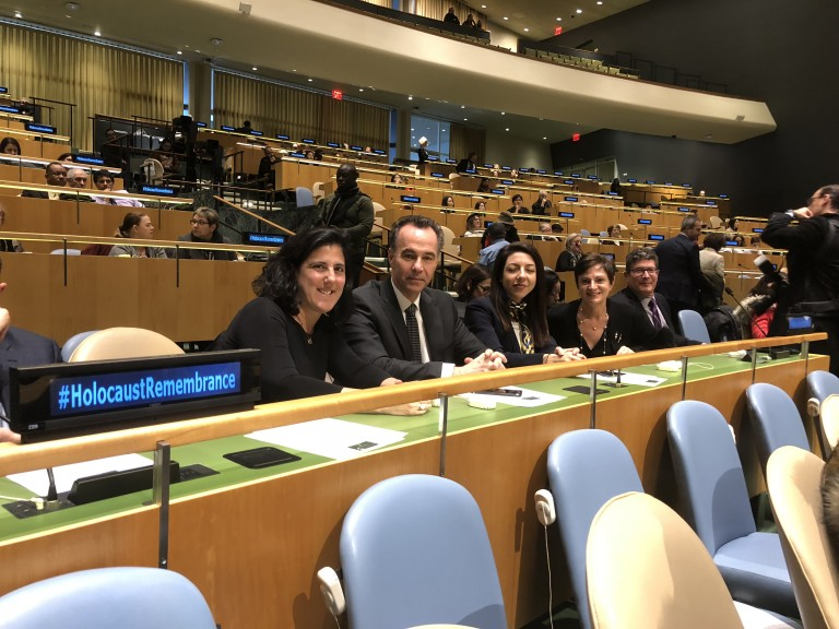 AJC NJ at UN Holocaust Remembrance