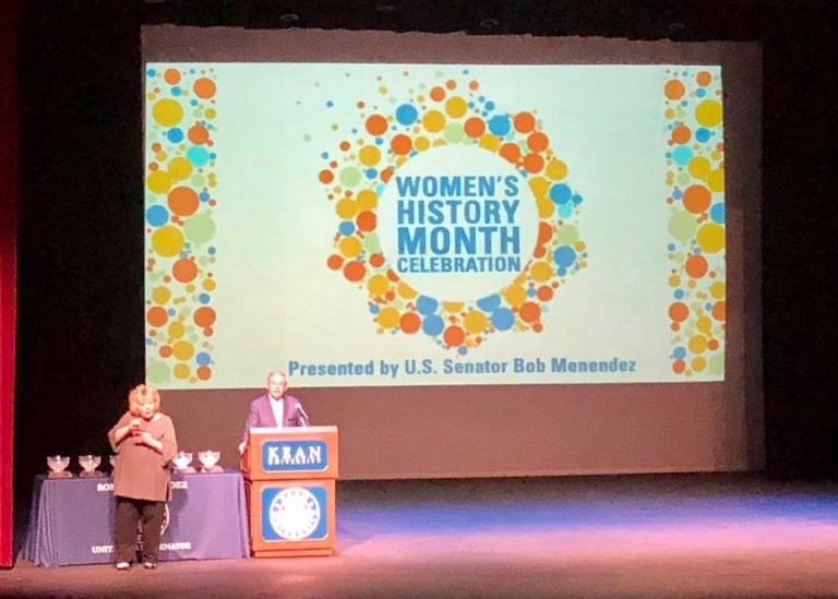 AJC New Jersey at Senator Menendez Women's History Month Event