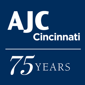 Graphic displaying AJC Cincinnati - 75 years