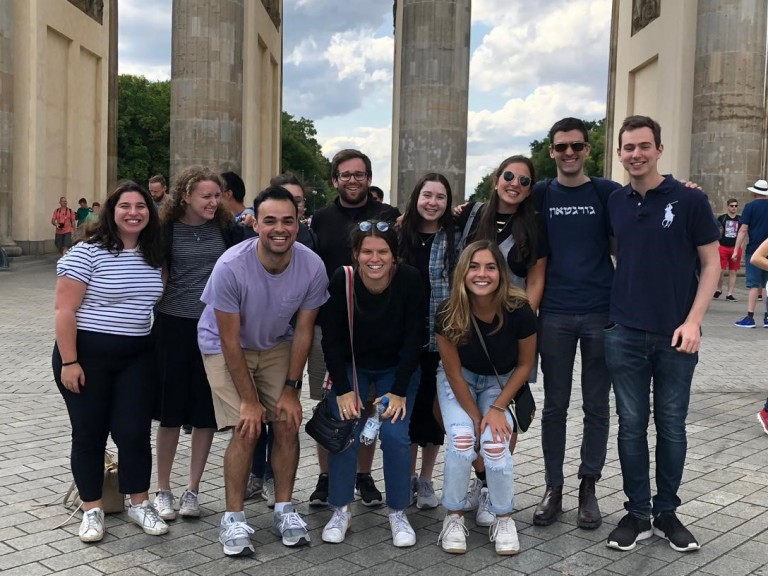 AJC Goldman Fellows in Berlin