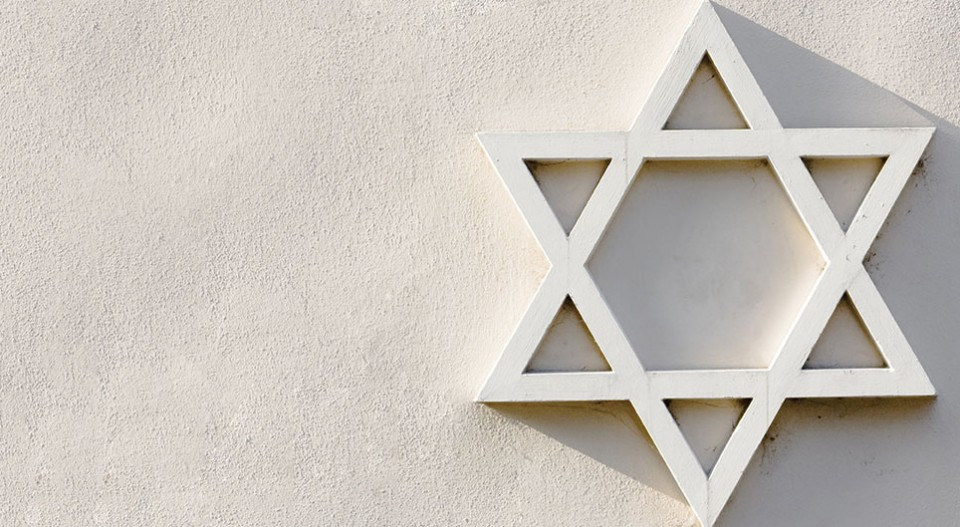 Graphic of a Star of David