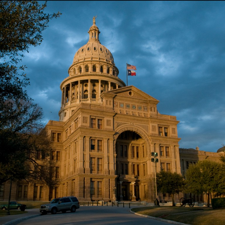 Photo of the Texas State Capitol building