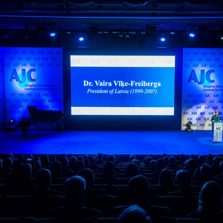 AJC Announces Keynote Speaker for Central Europe Office Gala: Former Latvian President Vaira Vīķe-Freiberga