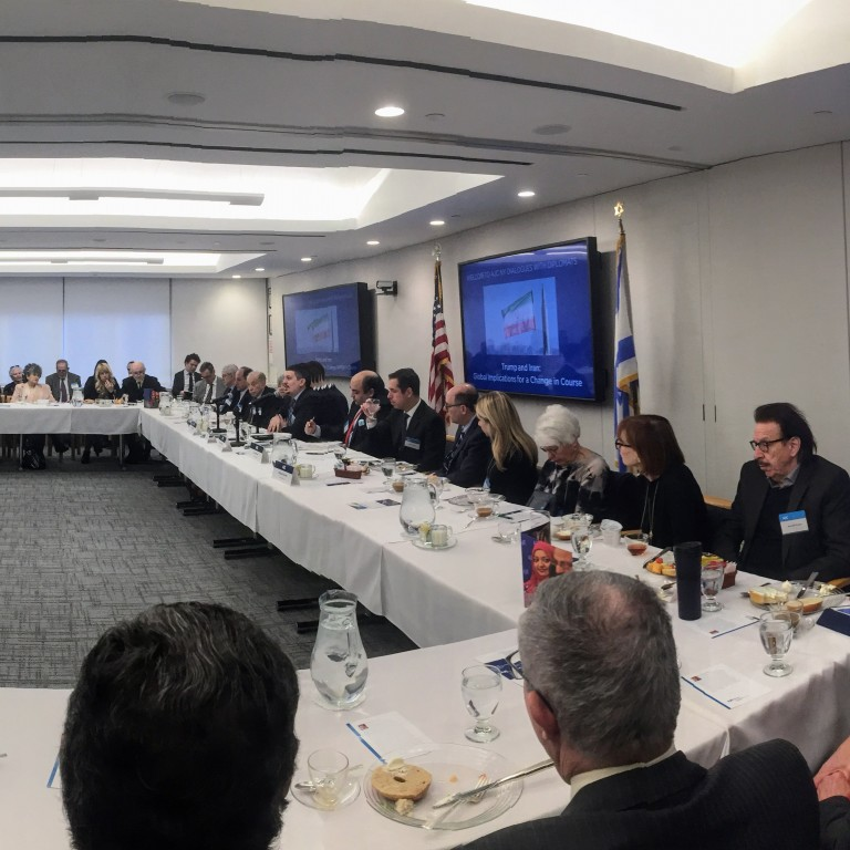 Photo of AJC NY's Dialogues with Diplomats breakfast