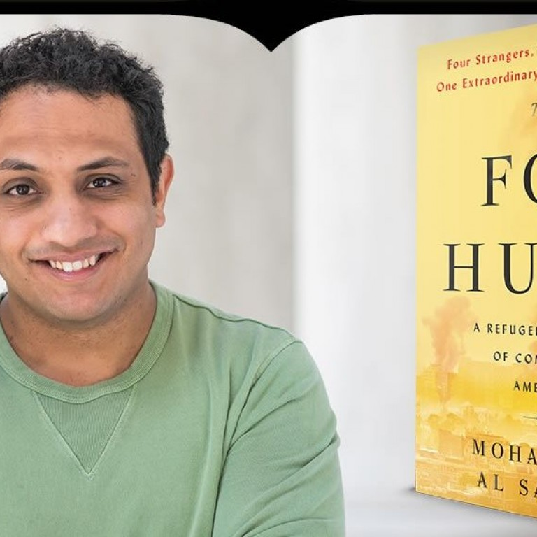 Photo of Mohammed Al Samawi and his book, Fox Hunt - AJC Live