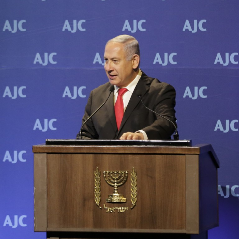 Israeli Prime Minister Benjamin Netanyahu Addresses AJC Global Forum 2018
