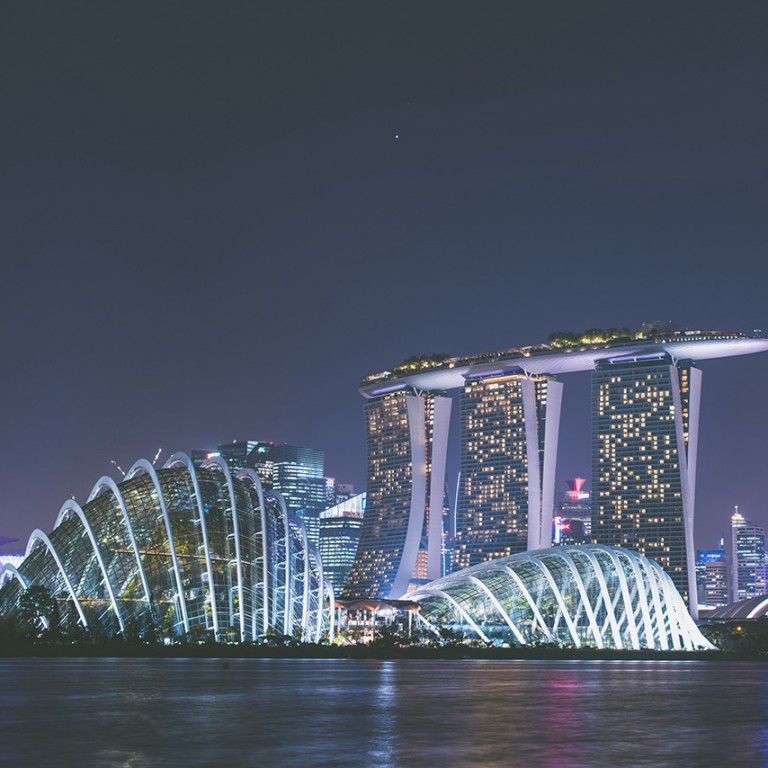 Photo of Singapore skyline