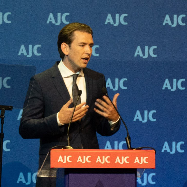 Highlights from Austrian Chancellor Sebastian Kurz's Address to AJC Global Forum
