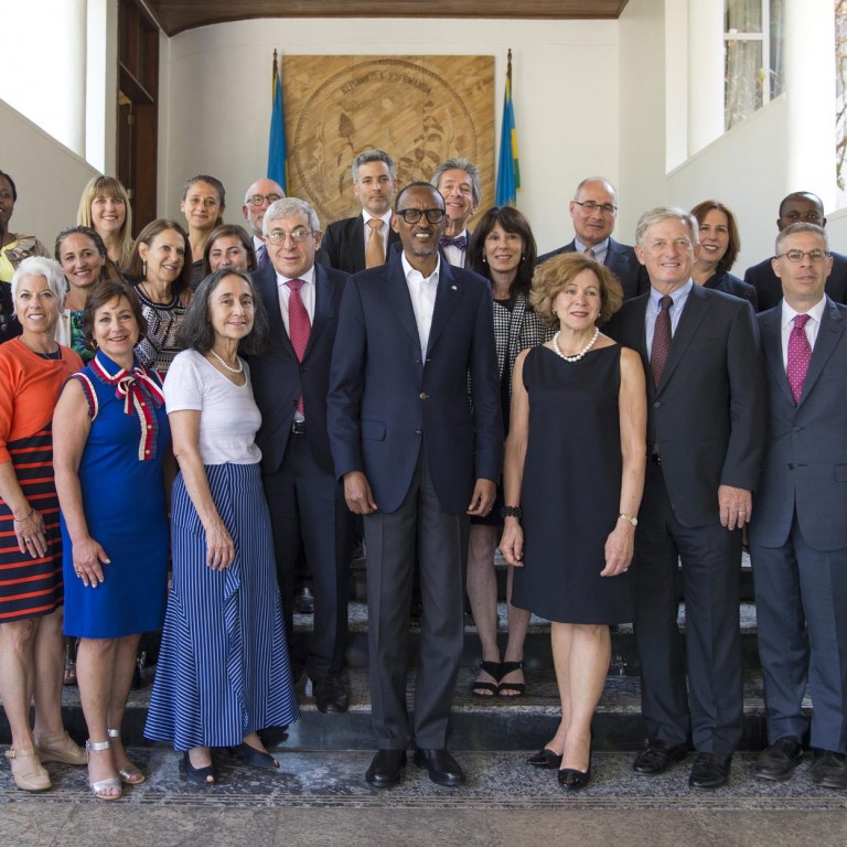 AJC Delegation Meets Rwanda President, Foreign Minister in Kigali