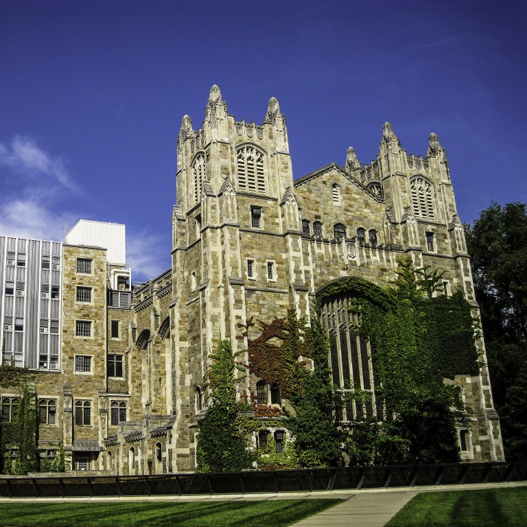 Photo of the exterior of University of Michigan Law School