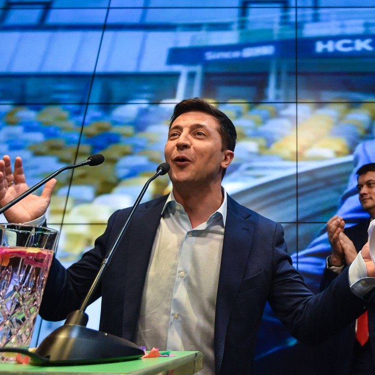 Volodymyr Zelensky wins Ukraine election