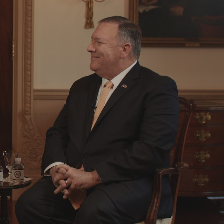 Photo of AJC CEO David Harris and Secretary of State Pompeo