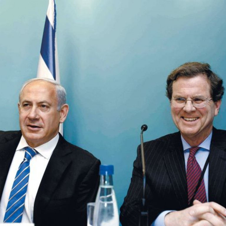 Photo of Prime Minister Netanyahu and AJC CEO David Harris