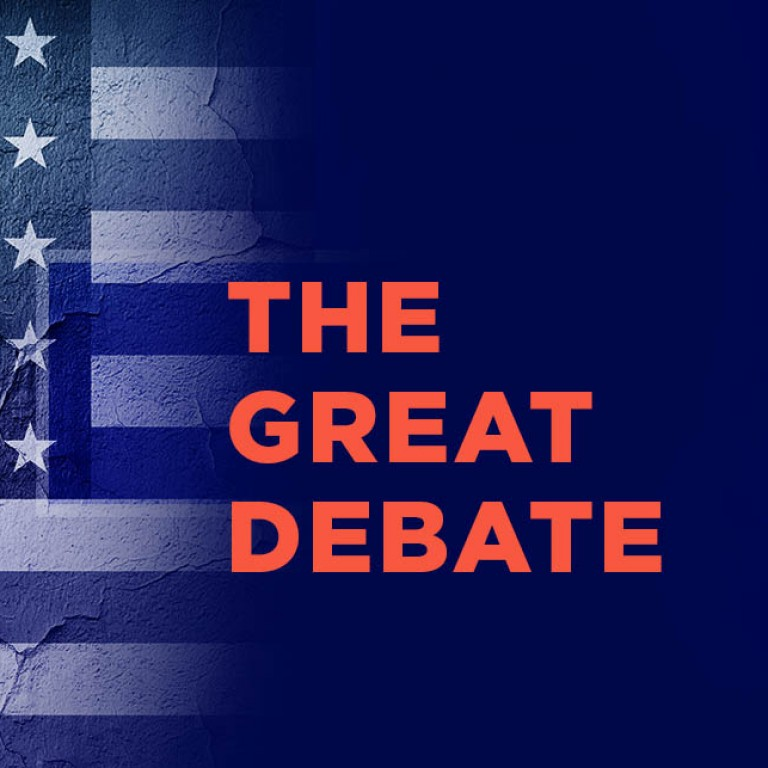 Graphic for The Great Debate
