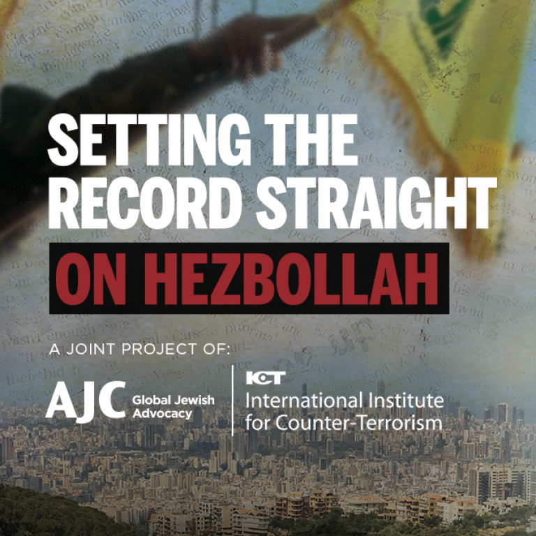 Setting the Record Straight on Hezbollah: Full Report