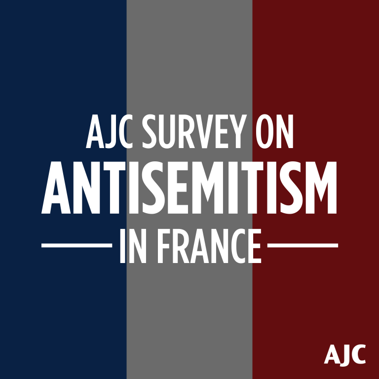 AJC Survey on Antisemitism in France