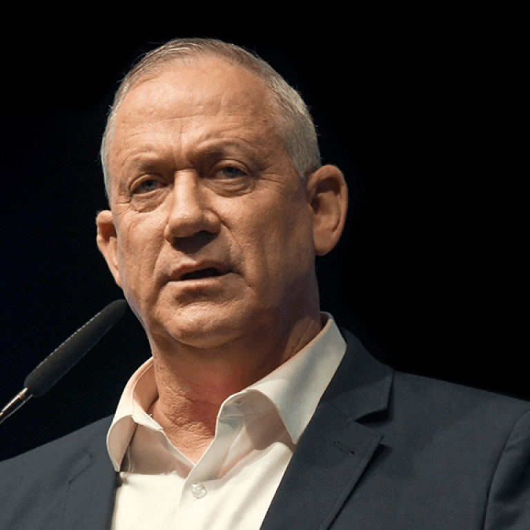 Israeli Alternate Prime Minister and Defense Minister Benjamin (Benny) Gantz v2